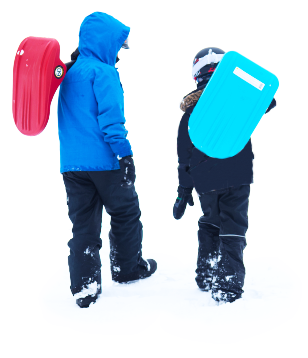 Ultra Light - Easy to carry for hill climbs and extreme back country sledding!