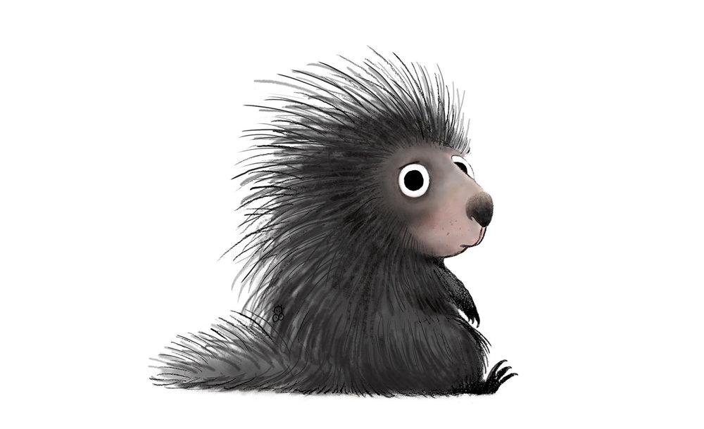 Porcupine Cartoon