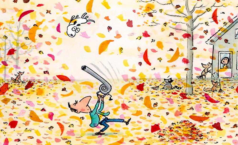 Autumn cartoon