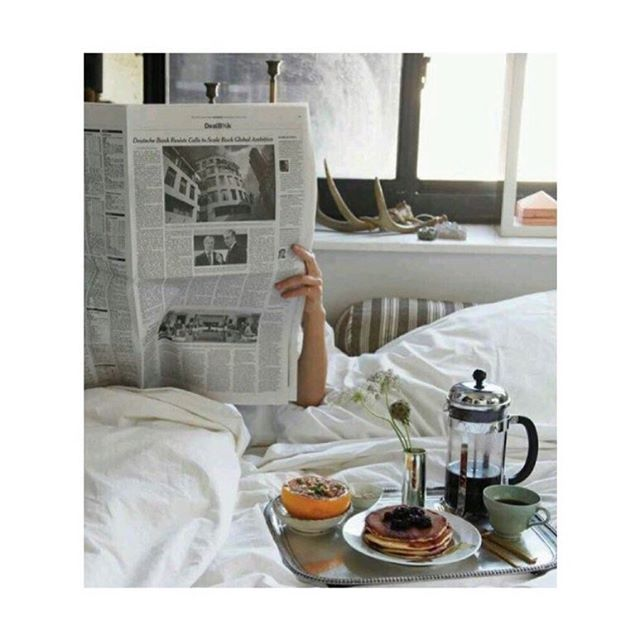 Have a peaceful Sunday everyone ☕️🥞🥖 #sundaymood #couchpotato