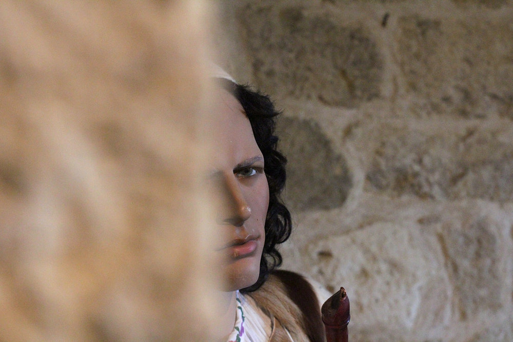 Mannequin in a castle museum somewhere in France © Tanya Clarke 2015