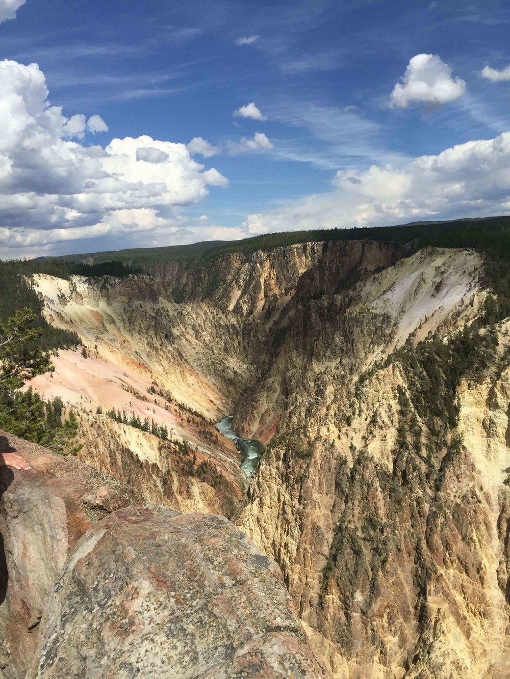 Yellowstone Canyon, Wyoming