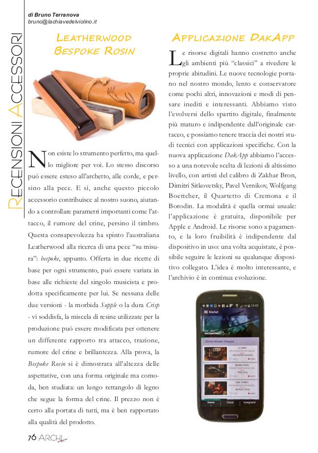 Archi Magazine (Italy), 2017