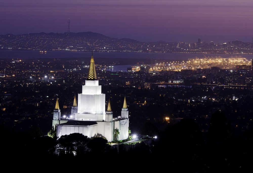 Oakland Temple History - Did you know that the Oakland Temple was the 13th temple of the The Church when it was dedicated?