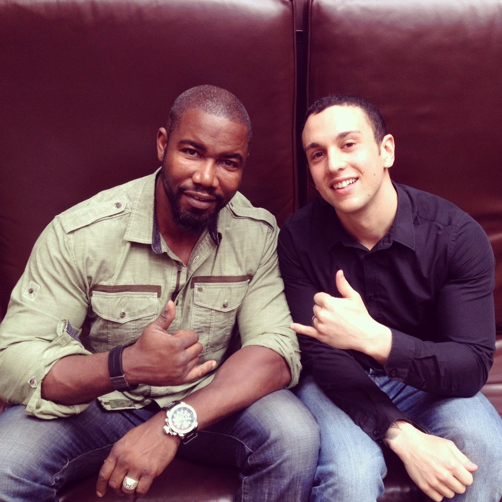 Michael Jai White and Mike Fury in London