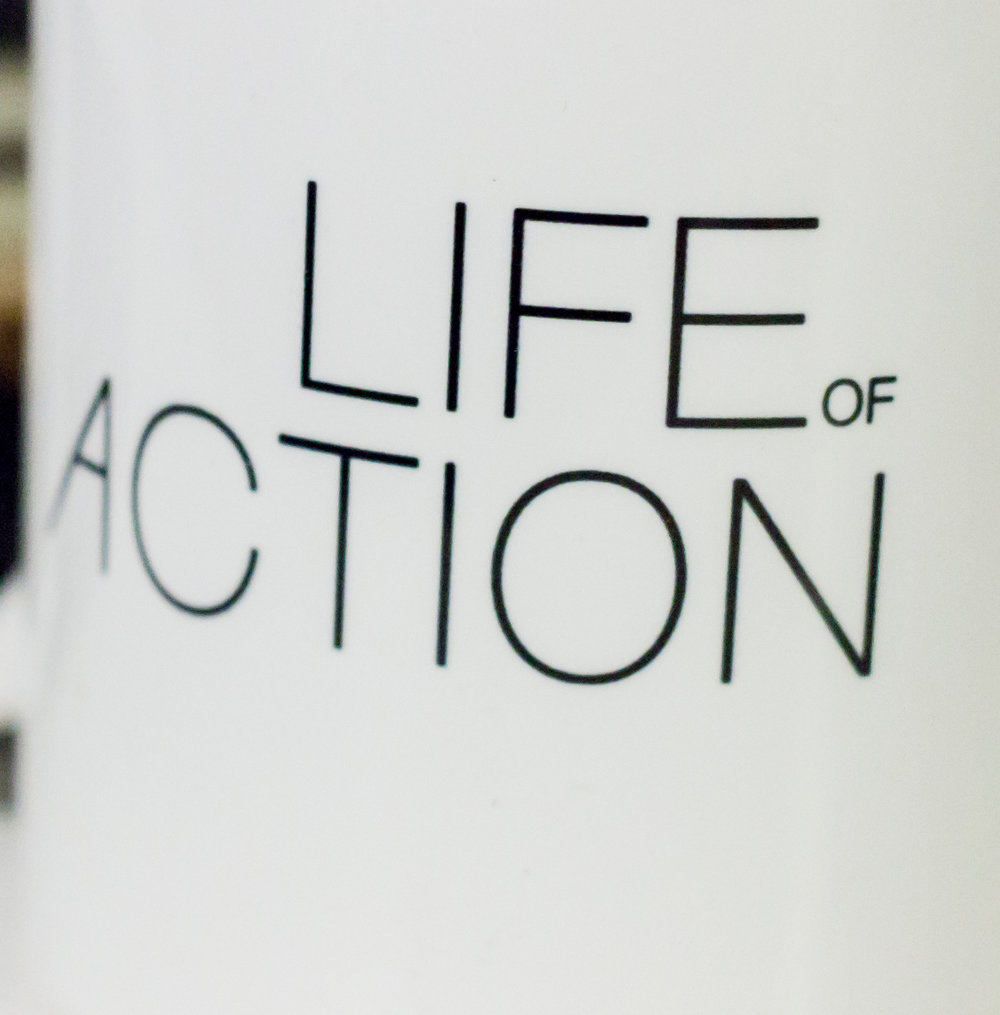 Mug gift for action movie fans   Life of Action by Mike Fury