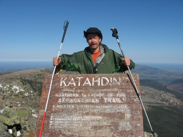 Mount Katahdin, Northern Terminus of the Appalachian Trail, 2008