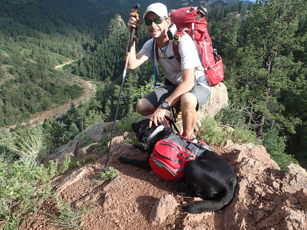 Trevor and Tennille on the Colorado Trail