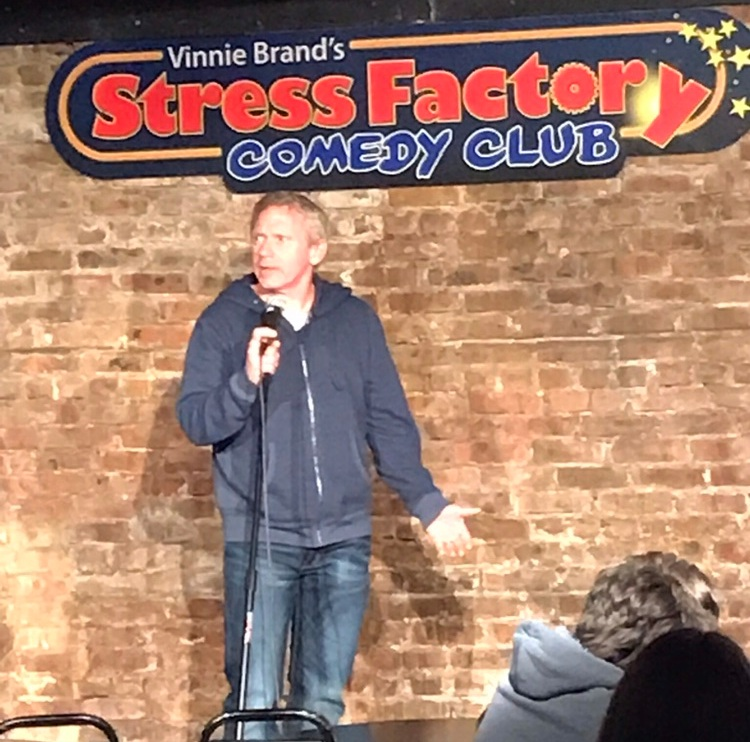 An Uplifting Talk - Comedian VINNIE BRAND Middletown, NJDid you know funny guy Vinnie Brand has a deep side? This talk will make you laugh and is deeply meaningful, too.