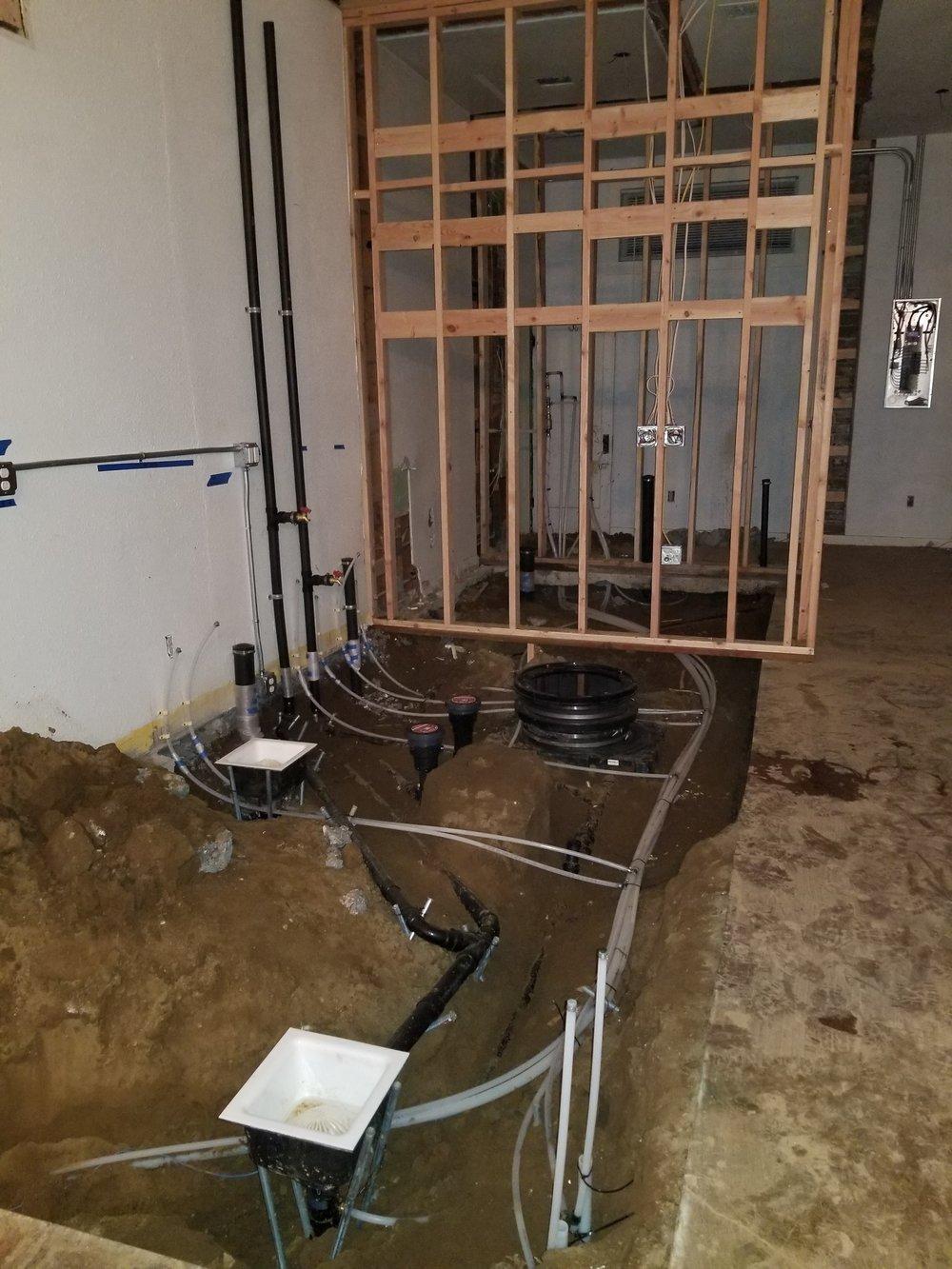 Plumbing Ground work cafe