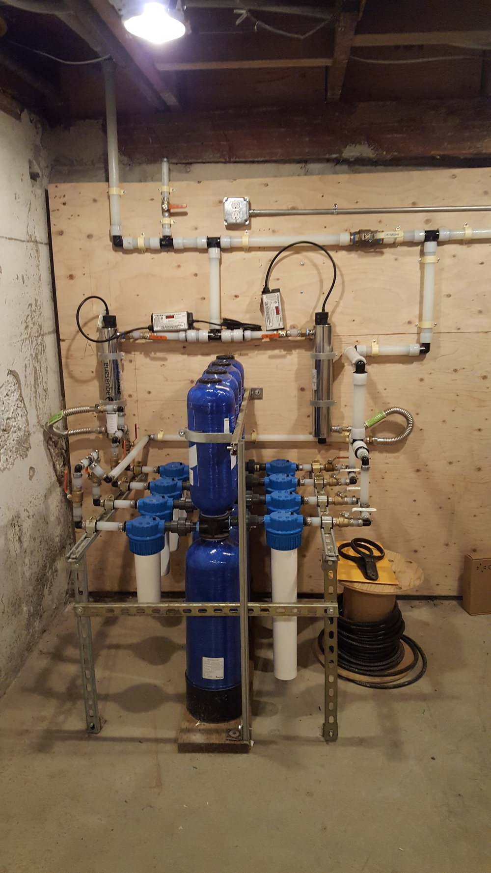 Whole house filtration system