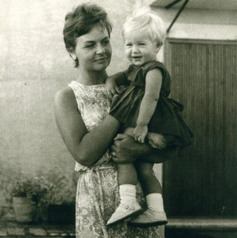 gisella e la sua madre, ingeborg hutt