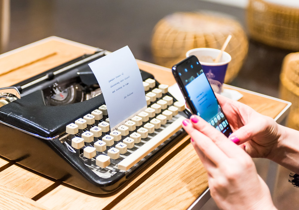 Shareable anywhere… - Guests can't resist snapping a pic and posting on social media. Instagram is always a favorite place to share.