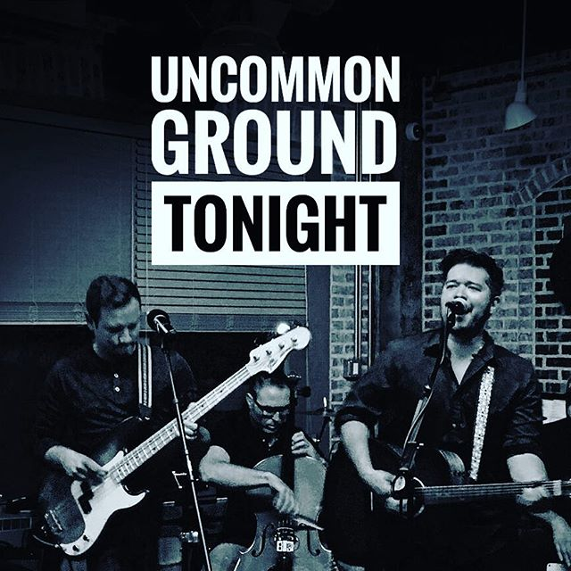 Tonight - see you at @uncommongrd at 8pm with @arthurfonzerelli aka Michael J. Foxxy, @distantbrothersmusic and @theearlysixes in the Lakeview listening room! . . . #livemusic #uncommongroundchicago #listeningroom #acoustic #folk #folkpop #singersongwriter #chicagoconcerts #lakeview #wrigleyville #musicgram