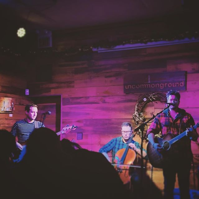 We had an amazing time at @uncommongrd in the #listeningroom on Saturday. Thank you all for coming out and being awesome. Speaking of awesome, amazing sets by Michael J. Foxxy (@arthurfonzerelli) and @distantbrothersmusic - really enjoyed sharing the stage with you. Hope to see you all again soon. . . . #uncommonground #livemusic #chicagoconcerts #singersongwriter #uncommongroundchicago #chicagogram #livemusic #folk #folkpop #acoustic #indiemusic #musicgram #instamusic #chicagomusic #chicagomusicians #postalservice #tompetty #originalmusic #music #musicvideo #musicvideo