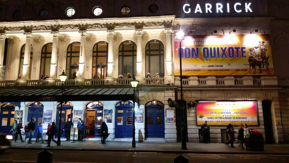 Garrick Theatre - visited 04/01/2019