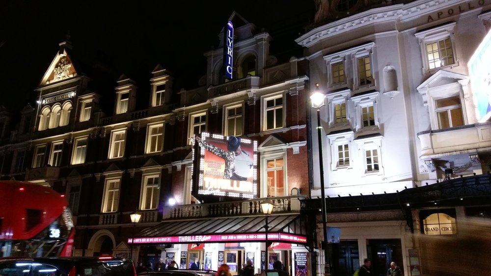 Lyric Theatre - visited 08/01/2019