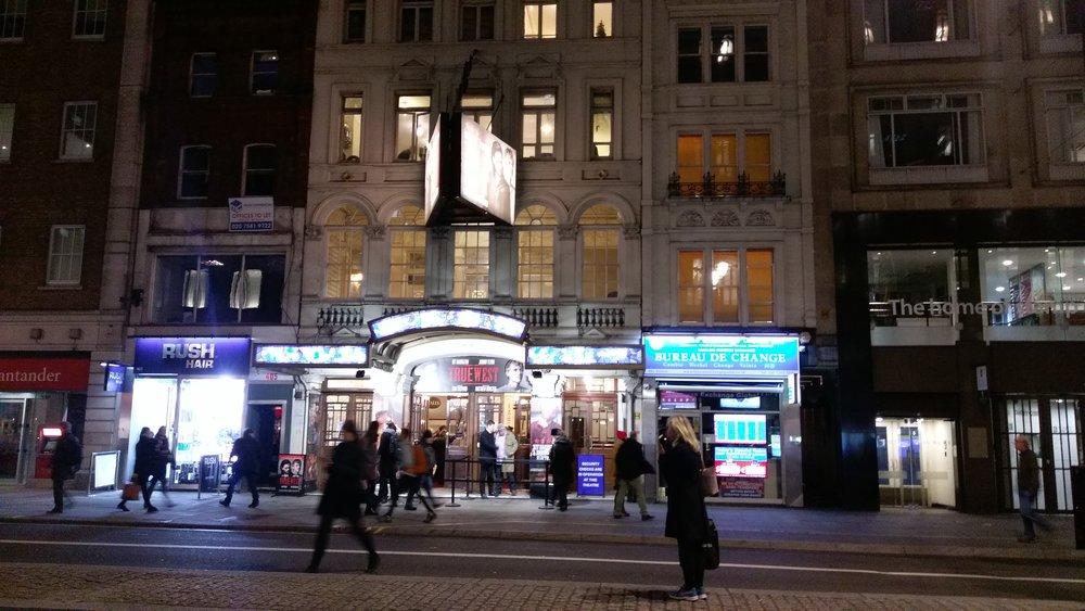 Vaudeville Theatre - visited 14/01/2019