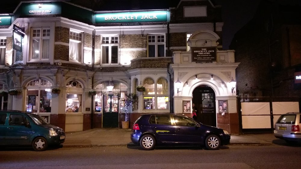 Brockley Jack Studio Theatre - visited 15/01/2019