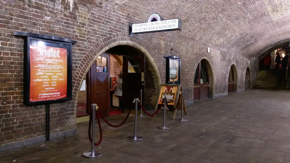 Charing Cross Theatre - visited 16/01/2019
