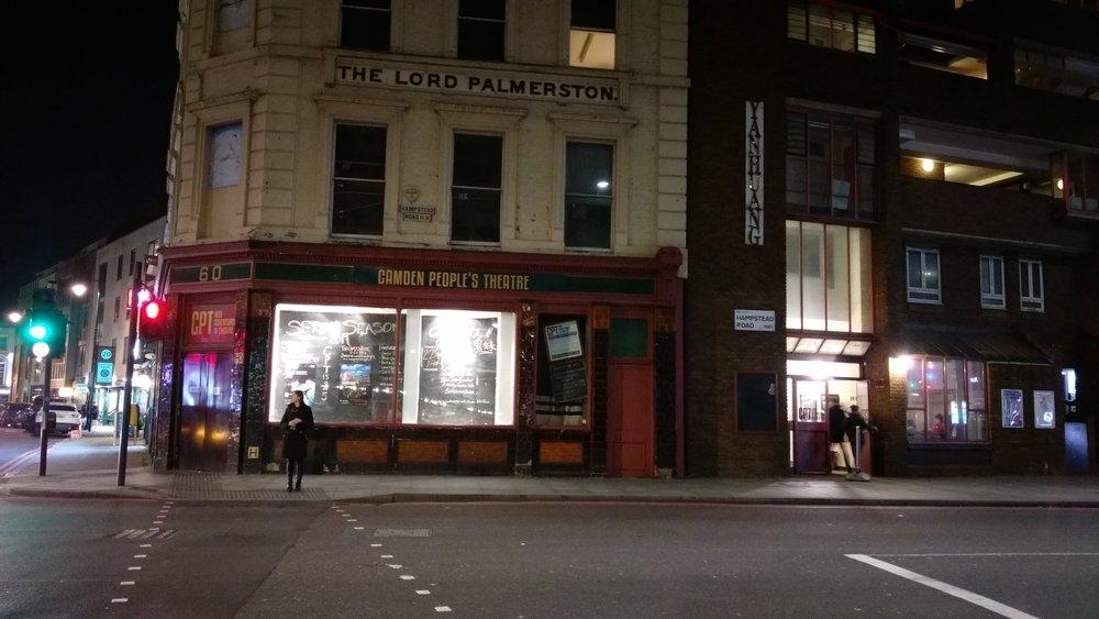 Camden People's Theatre - visited 17/01/2019