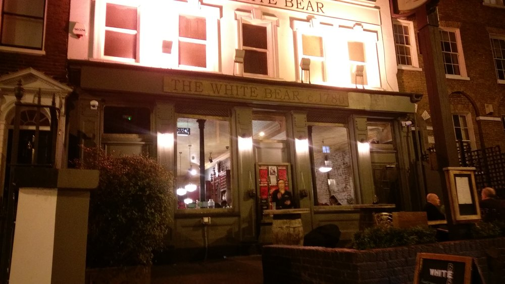 White Bear Theatre - visited 18/01/2019