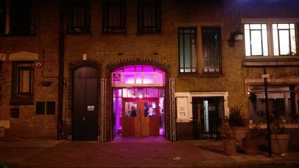 Arcola Theatre(Studio 1) - visited 23/01/201