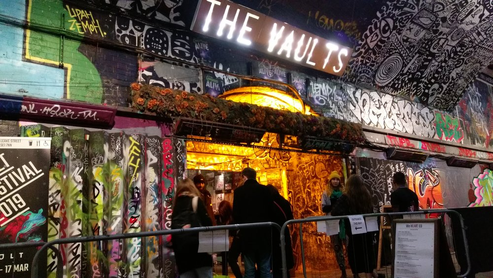 The Vaults (Studio) - visited 03/02/2019