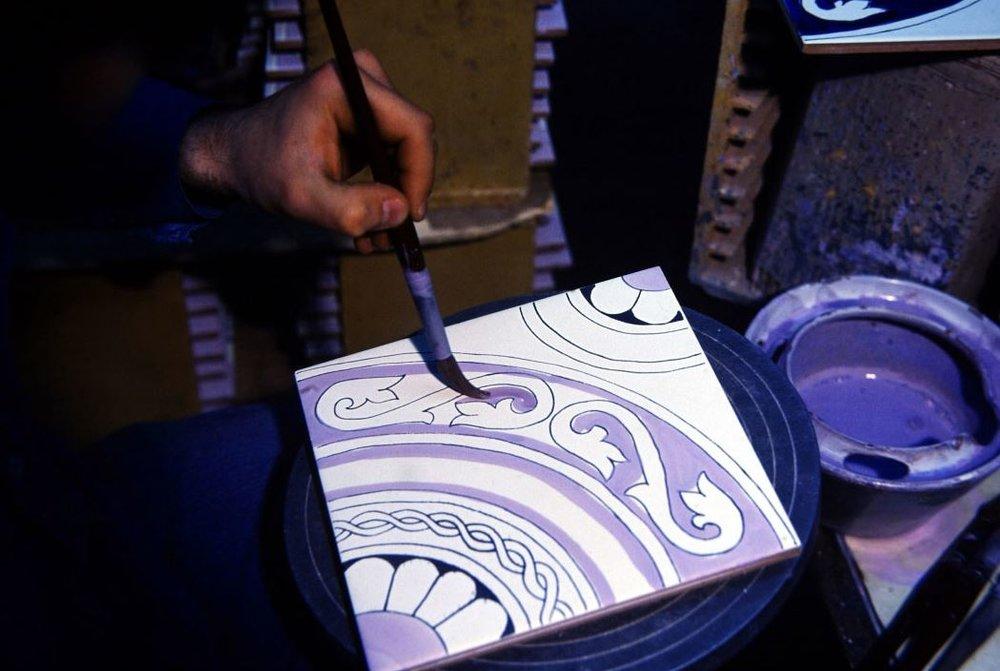 Ceramica Francesco de Maio handarbeit hochwertige Glasuren orientalisch mediteran Italien.JPG