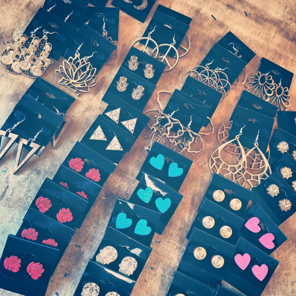 WoodWear Order Bundle of Earrings on Cards.jpg