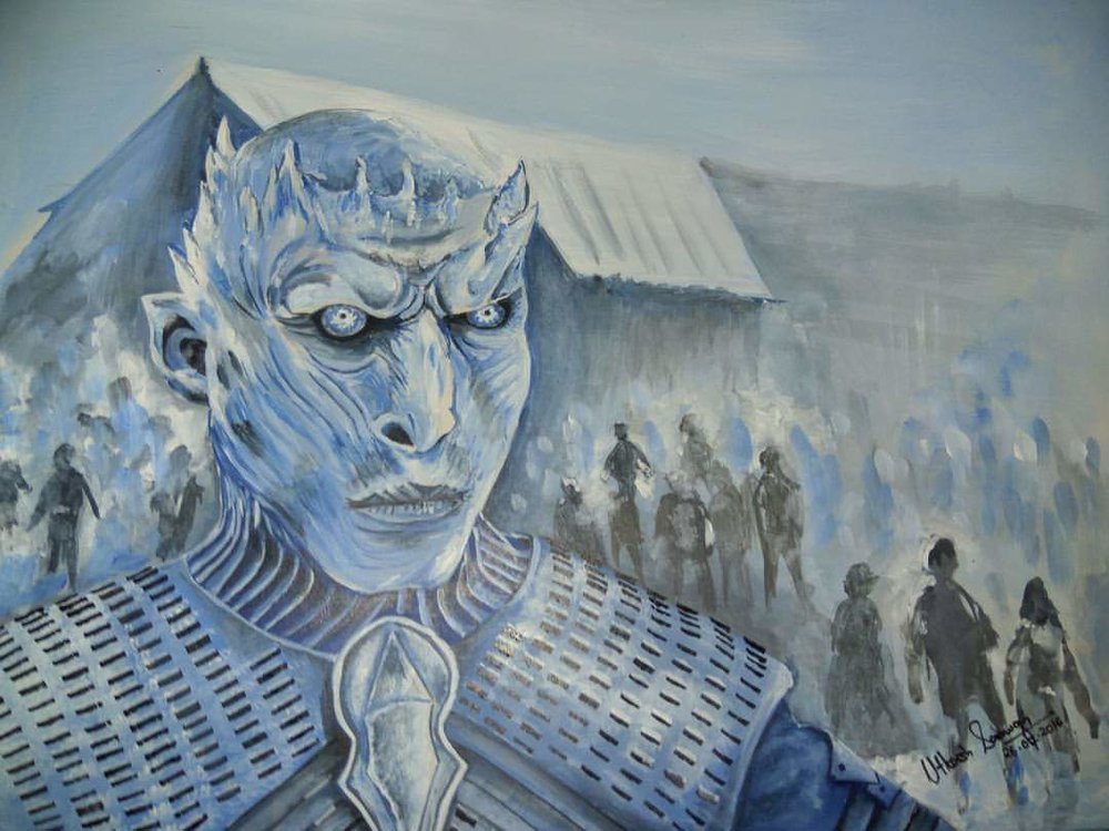 6 hours of art to yield the Night's King