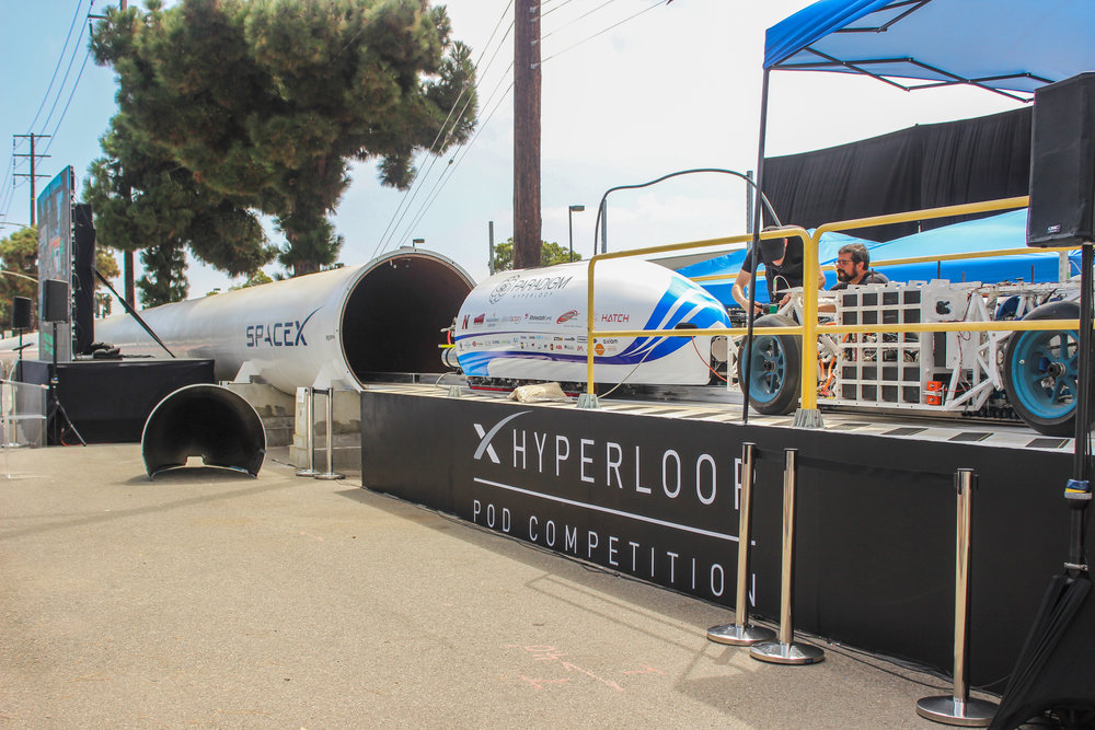 SpaceX Hyperloop Pod Competition 2017