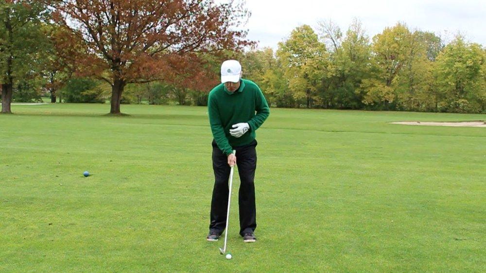 Narrow Stance Golf Swing