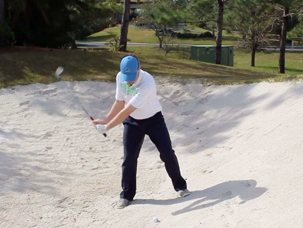 Correct Hand Position Bunker