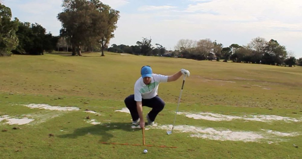 Iron Shot Ball Position