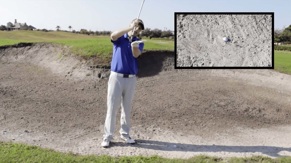 Plugged Bunker Shot - Leading Edge