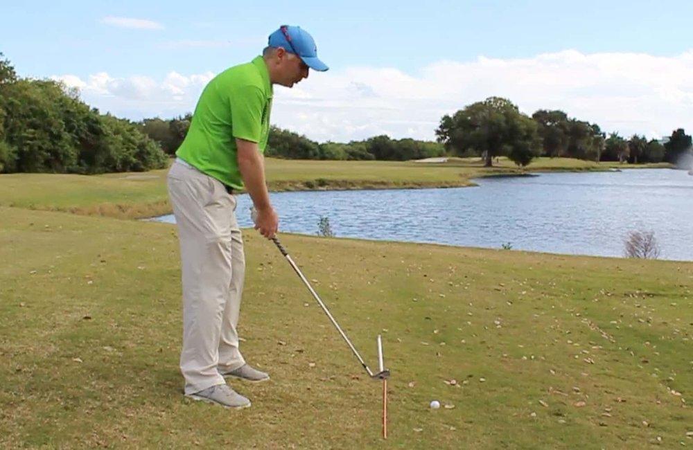Ball Below Feet Level Setup