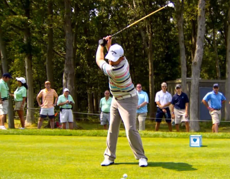 JB Holmes Golf Swing