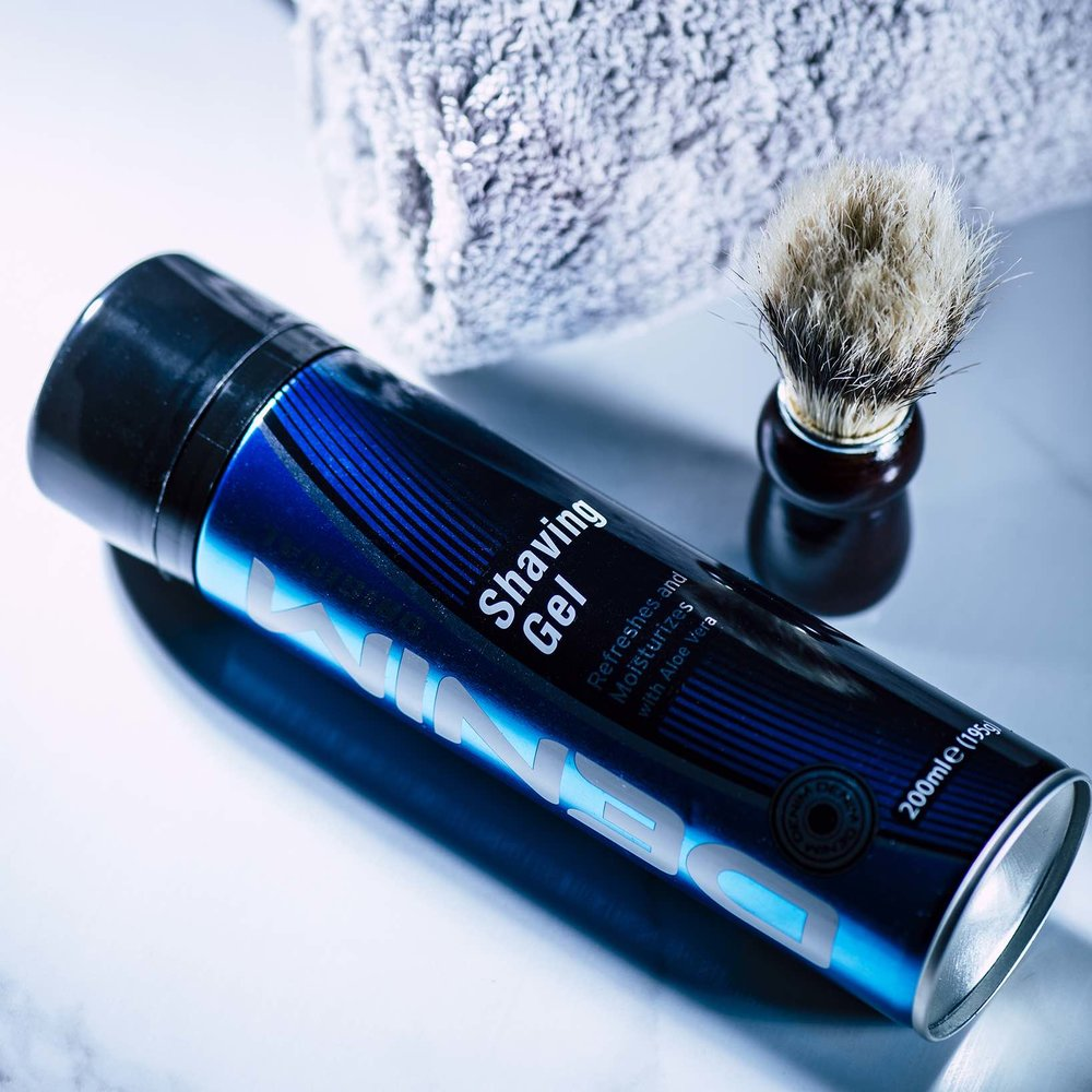 denim shaving gel
