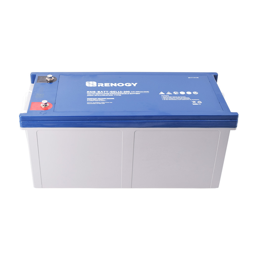 200 amp hour battery (2) -