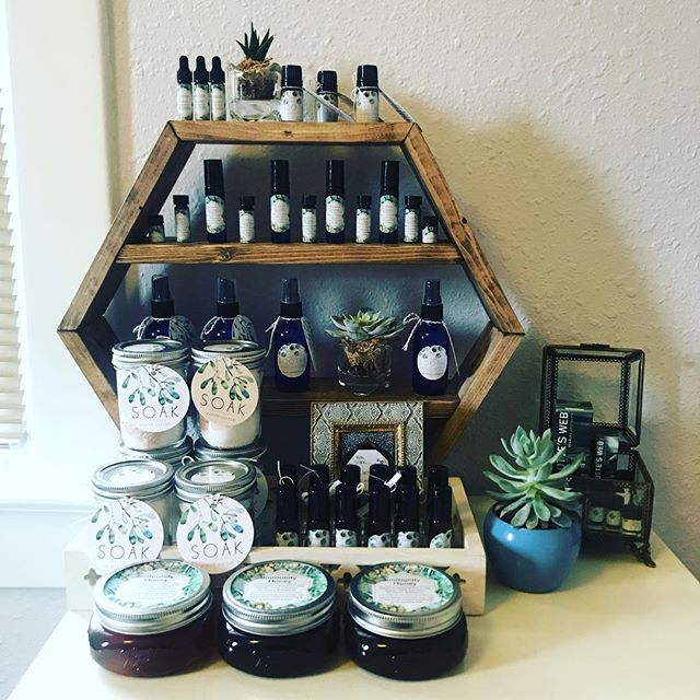 """Created some new essential oil products to add to the collection of therapeutic self care products available at my treatment space...🌿 👉🏼Swipe to see what's new! - - - - - - - - - - - - - - - - - ✨""""Headache Be Gone""""✨ Topical roller bottle (apply to temples) and essential oil diffuser blend, both in cobalt blue glass. Helpful for migraine relief as well! • • • • • • • • • • ✨""""Immune Boost BOMB""""✨ 👉🏼add 5 drops of this to 4 ounces of water and toss it back for a quick immune boost from anti-bacterial and anti-viral essential oils! Or add a few drops to sip in herbal tea if you don't mind the taste ☺️ • • • • • • • • • • 🍯""""Immunity Honey""""🍯 👉🏼Immune boosting essential oils in raw, organic, local honey to swirl in herbal tea or hot water with lemon.🍋 And as always we have the SOOTHE products in stock and the divinely relaxing and therapeutic bath """"SOAK"""".🛀 DM me if you want to pick some products up!☺️ • • • • • #essentialoils #powerofplants #healthandwellness #selfcare #healing #naturalhealth #headacherelief #immuneboost #healinghoney #nurtureandmend #boiseacupuncture #boiseacupuncturist"""