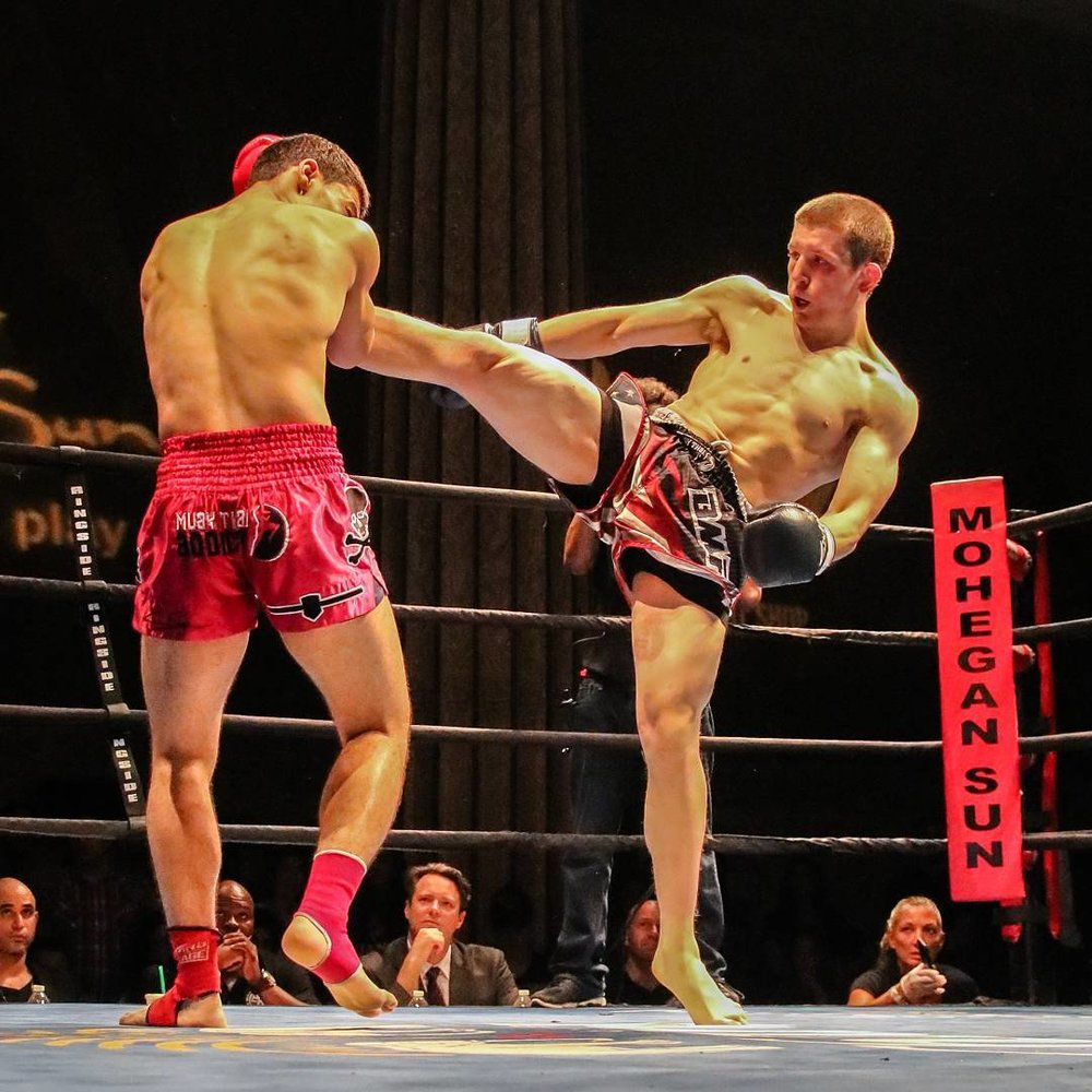 Zev Schtroks at Friday Night Fight by Walt Zink