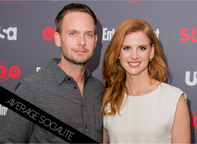 suits season 6 premiere screening with cast nyc average socialite suits season 6 premiere screening with