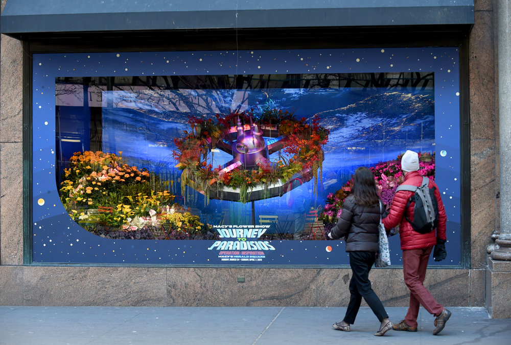 Macy's Presents Journey to Paradisios Flower Show 2019