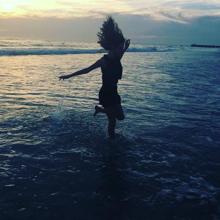 Sunset at Cocina Beach