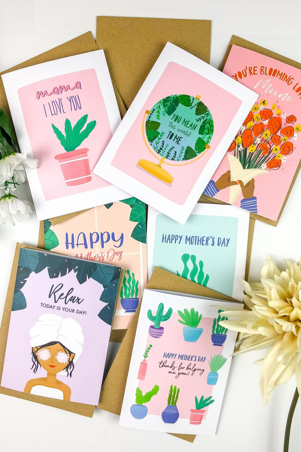 mothers day cards HerDesignWorld
