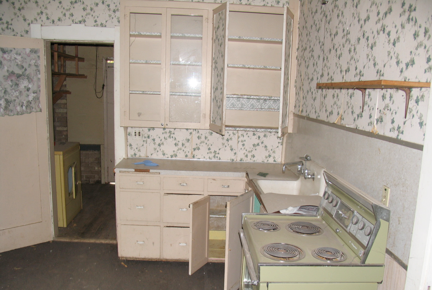 Pioneer Home Kitchen Before