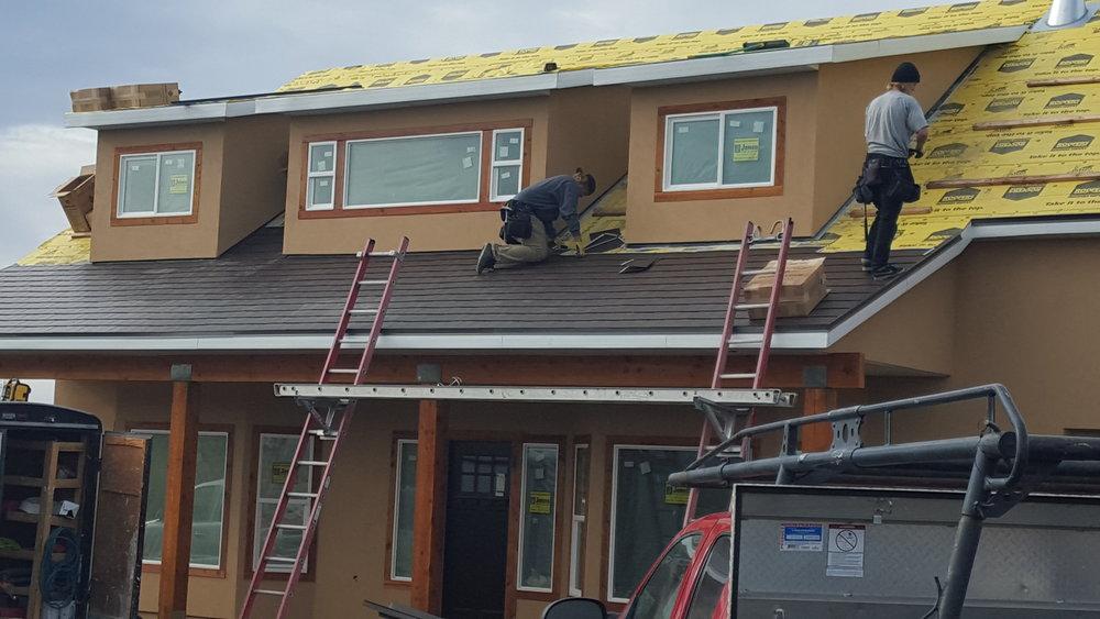 Aluminum Shingle Roofing