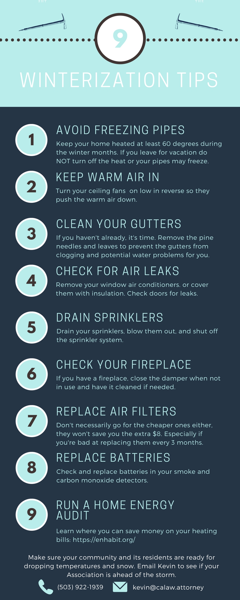 Winter Home Preparation Tips