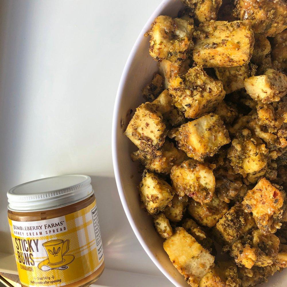 Hot Honey Tofu - Vegetarian, Dairy-Free, Gluten-Free